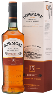 Bowmore Scotch Single Malt 15 Year Darkest 750ml